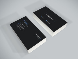 Corporate Business Card – Freebie PSD Template
