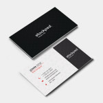 Clean Business Card – PSD Freebie