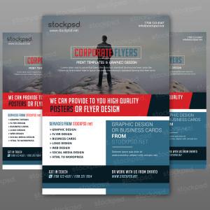 Corporate Flyer – Freebie PSD Template