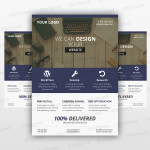 Business Flyer 05 – Freebie PSD Template