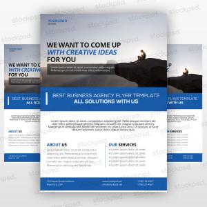 Business Flyer 04 – PSD Freebie