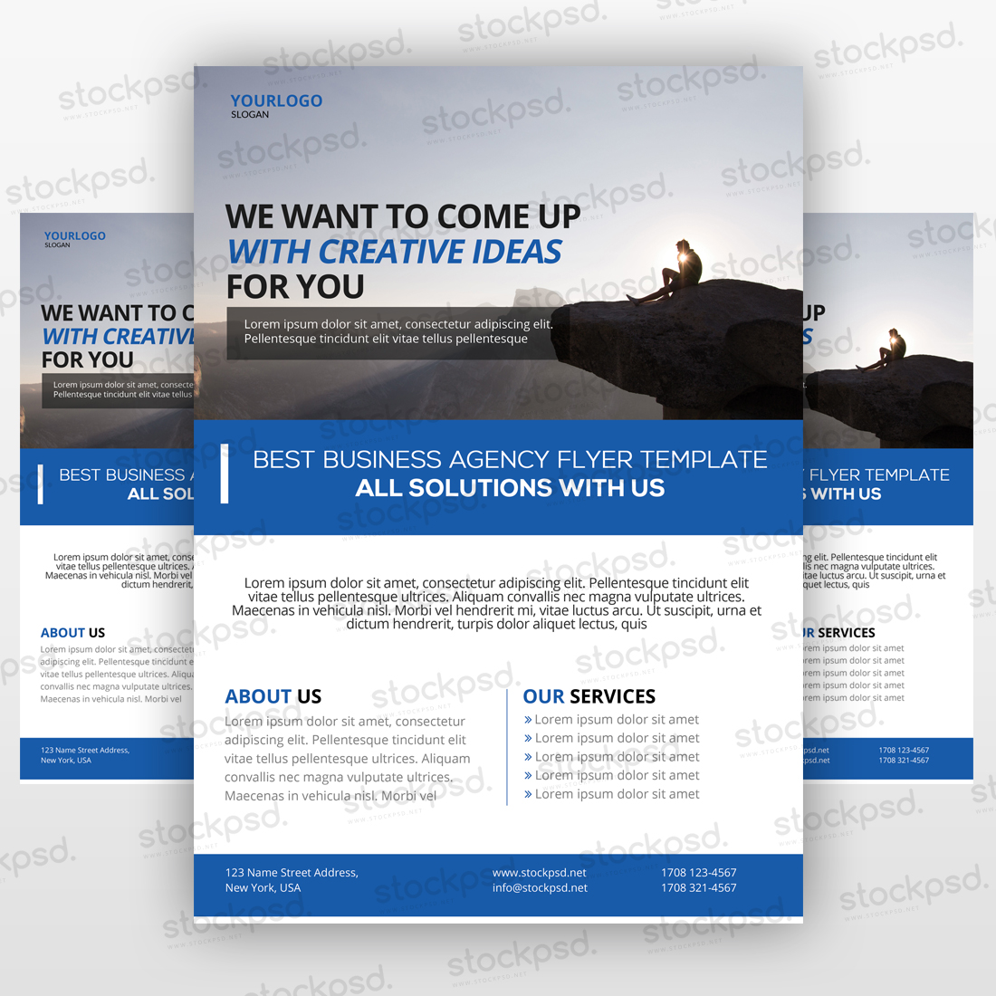 psd flyers brochure mockups more templates business flyers