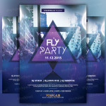 Fly Party – PSD Freebie Flyer