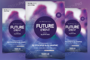 Future Event – PSD Flyer Freebie
