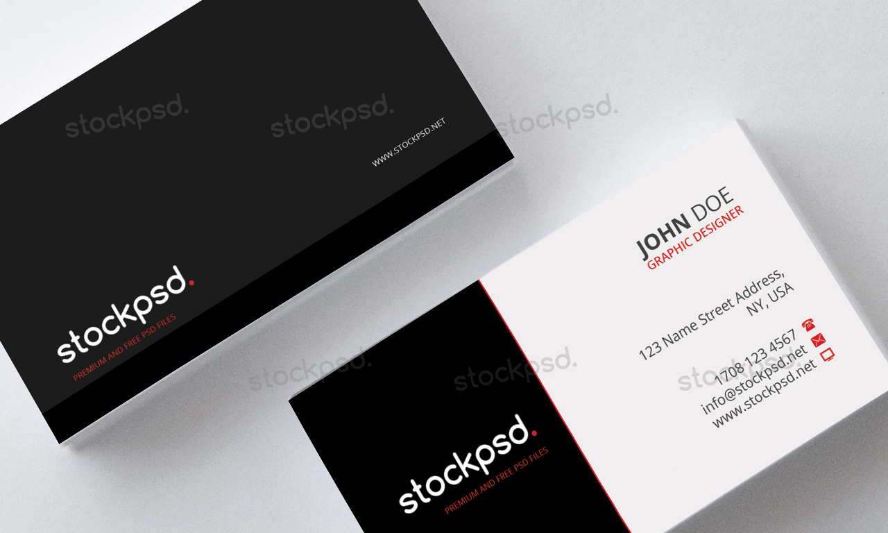 Stockpsd free psd flyers brochures and more download free modern business card free psd files reheart