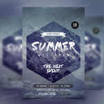 Summer Mixtapes – Freebie PSD Party Flyer