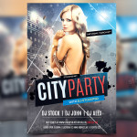 City Party – Freebie PSD Flyer