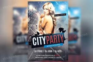 City Party – Freebie PSD Flyer