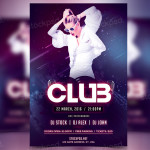 Club – FREE PSD Flyer