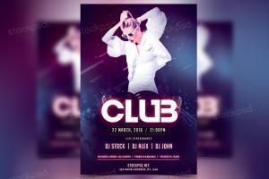 Club – FREE PSD Flyer