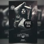Pure Sound – Freebie PSD Flyer