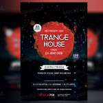 Trance House – PSD Freebie Flyer