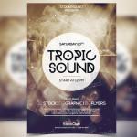 Tropic Sound – Freebie PSD Flyer