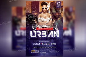 Urban – FREE PSD Party Flyer