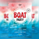 Boat Party – FREE PSD Flyer