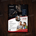 Fitness & Gym – Freebie PSD Flyer Template