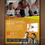 Fitness, Gym & Health – FREE PSD Flyer Template