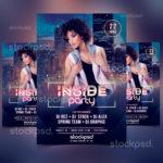 Inside Party – Freebie PSD Flyer