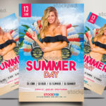 Summer Day – FREE PSD Party Flyer