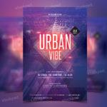 Urban Vibe – Free PSD Party Flyer