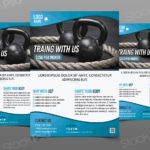 Training Gym/Fitness - Free PSD Flyer
