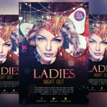 LADIES NIGHT OUT - FREE PSD FLYER TEMPLATE