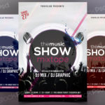 TheMusic Show - PSD Freebie Flyer