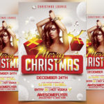 Merry Xmas 2017 - Free PSD Flyer Template
