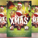 Xmas Bash - Free PSD Flyer Template