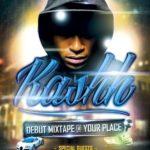 Debut Mixtape Hip Hop Flyer Template