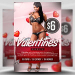 Free Free Valentine's Flyer Template PSD
