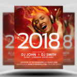 Free Free New Year's Eve Flyer Template