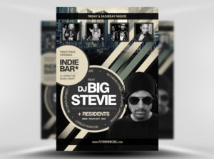 Free Free Indie Bar Flyer Template