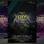 City Sound - Free PSD Event Flyer Template