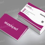 Corporate Business Card Vol. 8 – Free PSD