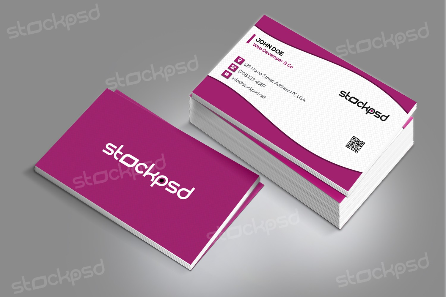 Stockpsd.net – Freebie Templates | Download Free PSD Business Cards ...