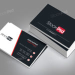 Corporate Business Card – Free PSD Template