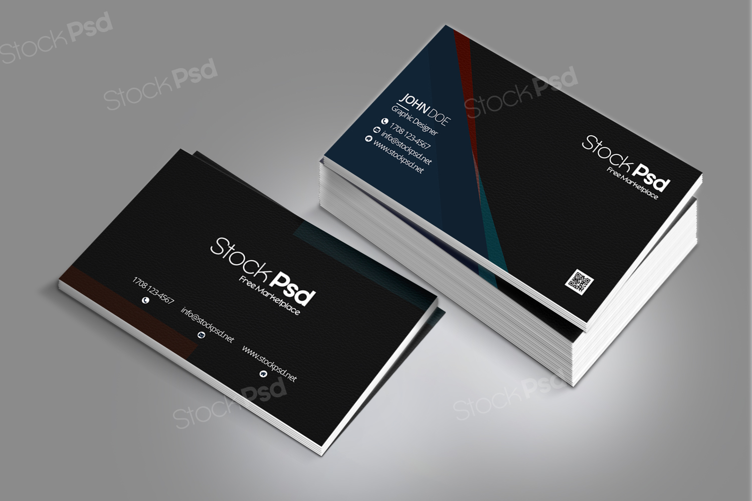 Stockpsd freebie templates business card free psd template business card free psd template cheaphphosting Gallery