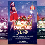 Christmas 2017 – Free PSD Flyer Template