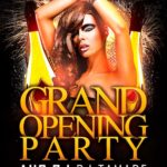 Grand Opening Party Flyer Template Vol.2