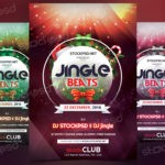 Jingle Beats - Download Free Christmas PSD Flyer Template