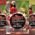 Merry Christmas 2017 - FREE PSD Flyer