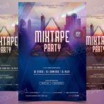 Mixtape Party - Freebie PSD Flyer Template