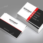 Personal Business Card - Free PSD Template