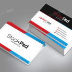 Corporate Business Card - FREE PSD Template