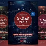 X-Mas Party 2017 - Download Free PSD Flyer Template