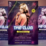 The Club - Download Free PSD Flyer Template