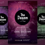 The Dream – Free PSD Flyer Template