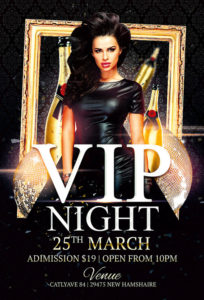 Vip Night Club Flyer Template