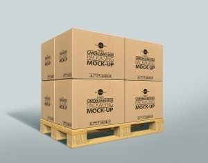 Free Cardboard Box Mock-up Psd For Packaging